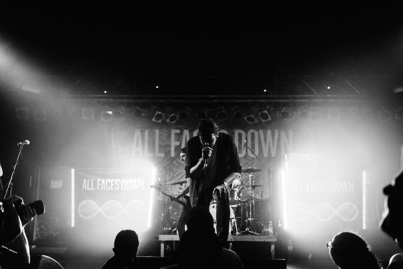 All Faces Down Live