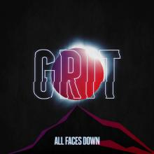 All Faces Down - Grit Cover